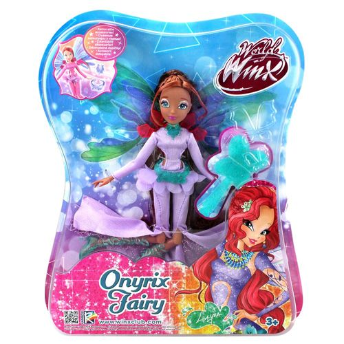Layla | Onyrix Fairy Puppe | Winx Club | World of Winx | Magisches Gewand – Bild 4