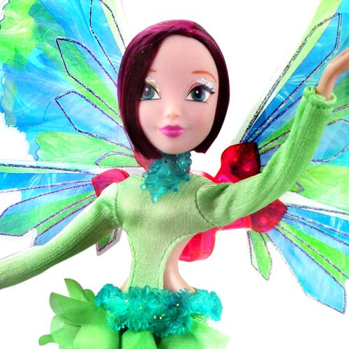 Tecna | Onyrix Fairy Puppe | Winx Club | World of Winx | Magisches Gewand – Bild 2