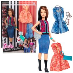 Pretty in Paisley | Mattel DTF04 | Petite Fashionistas 41 | Puppe | Barbie 001