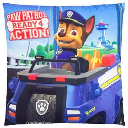 Ready 4 Action | Kinder Kissen 40 x 40 cm | Paw Patrol | Dekokissen 001