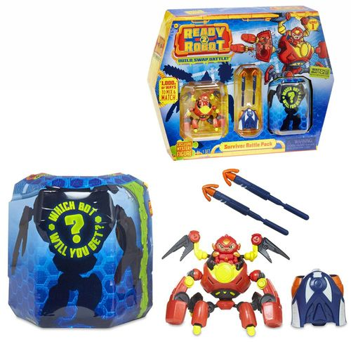 Auswahl Action Spielfiguren Set | Ready 2 Robot | MGA Entertainment | Serie 1 – Bild 3
