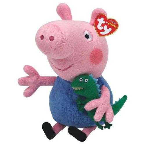 Auswahl Plüsch-Figuren Beanie Babies | Peppa Wutz | Peppa Pig | 15 cm Softwool – Bild 12