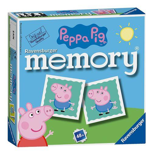 Mini Memory® | 48 Bildkarten | Peppa Wutz | Peppa Pig | Ravensburger | Spiel – Bild 1