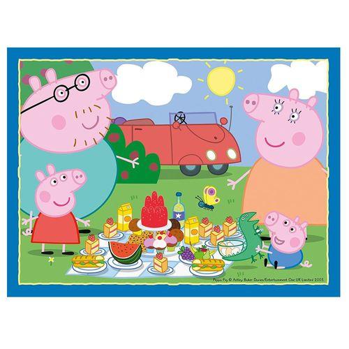 4 in 1 Puzzle Box | Peppa Wutz | Peppa Pig | Ravensburger | Kinder Puzzle – Bild 3