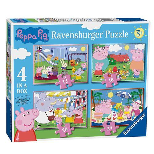 4 in 1 Puzzle Box | Peppa Wutz | Peppa Pig | Ravensburger | Kinder Puzzle – Bild 1