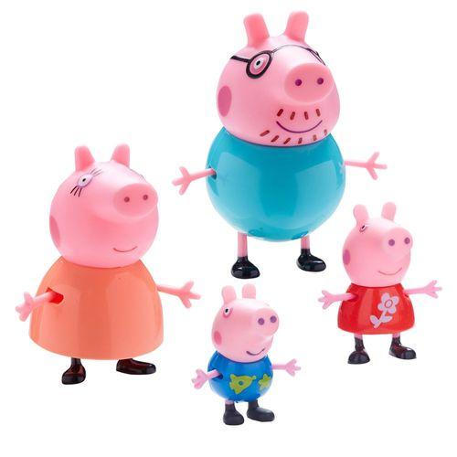 Familie Wutz | 4er Spiel Figuren Set | Peppa Wutz | Peppa Pig – Bild 2