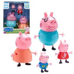 Familie Wutz | 4er Spiel Figuren Set | Peppa Wutz | Peppa Pig