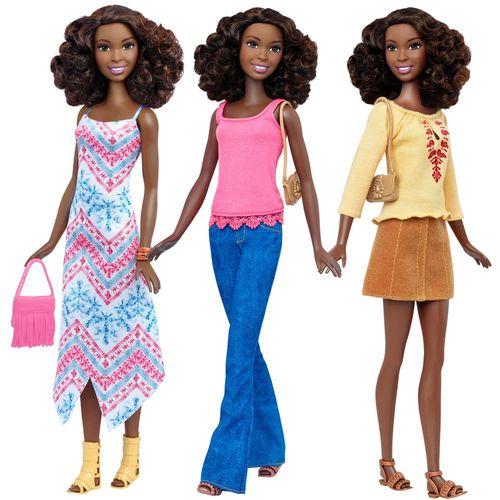 Boho Fringe | Mattel DTF08 | Tall Fashionistas 45 | Puppe | Barbie – Bild 3