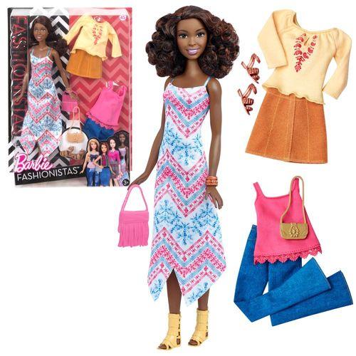 Boho Fringe | Mattel DTF08 | Tall Fashionistas 45 | Puppe | Barbie – Bild 1