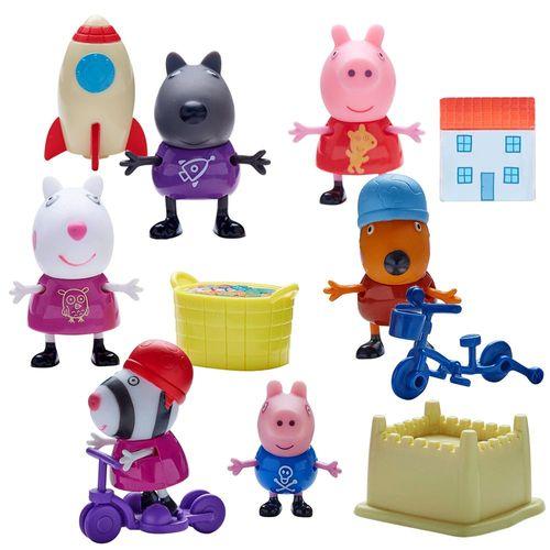 Auswahl Spielfiguren | Peppa Wutz | Peppa Pig | Figur mit Zubehör – Bild 1