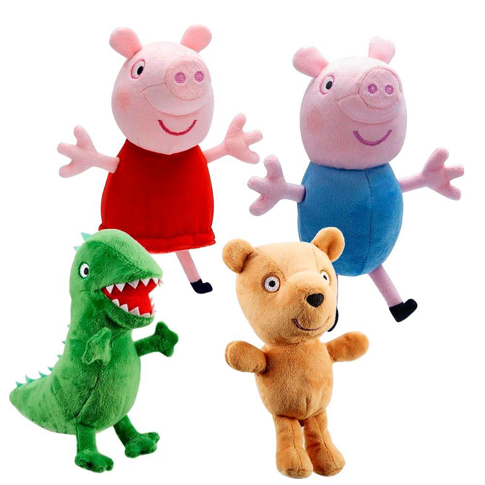 Auswahl Plüsch Figuren Peppa Wutz Peppa Pig 15 Cm Softwool