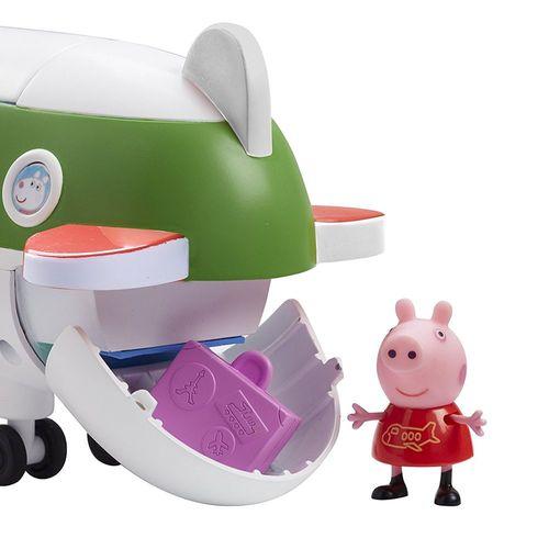 Flugzeug | Spielset | Peppa Wutz | Peppa Pig | mit Figur Peppa & Reisekoffer – Bild 3