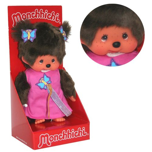 Schmetterlings-Kleid | 20 cm | Monchhichi Puppe | Mädchen | Fashion Dress – Bild 1