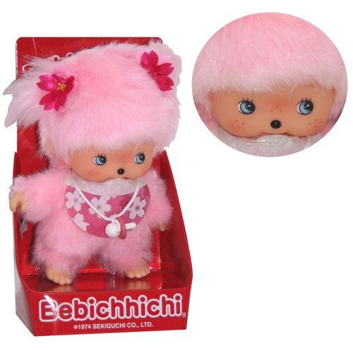 Kirschblüten-Mädchen | Bebichhichi | 16 cm | Monchhichi Puppe – Bild 1
