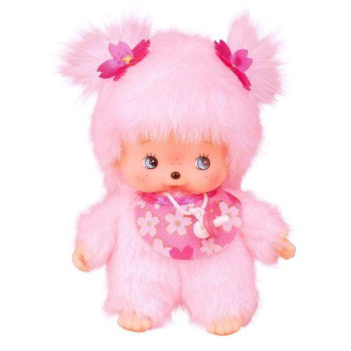 Kirschblüten-Mädchen | Bebichhichi | 16 cm | Monchhichi Puppe – Bild 2