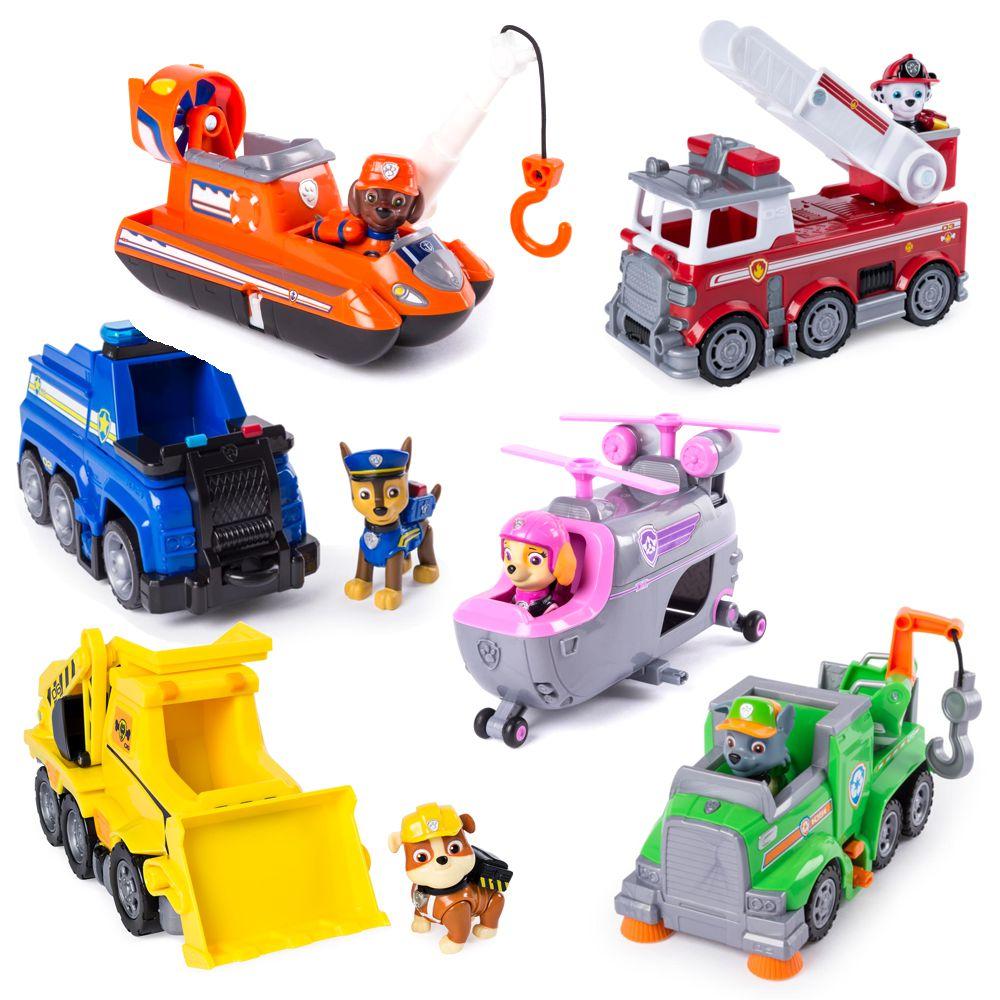 Paw Patrol Ultimate Rubble Spielfigur und Fahrzeug