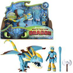 Drache Sturmpfeil & Astrid | Action Spiel Set | DreamWorks Dragons | Stormfly