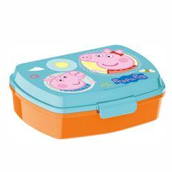 Brotdose | Peppa Wutz | Peppa Pig | Box Frühstück | Kinder Vesper Dose