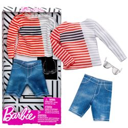 Boat Neck Fashion | Ken Trend Mode | Barbie | Mattel FXJ35 | Puppen-Kleidung