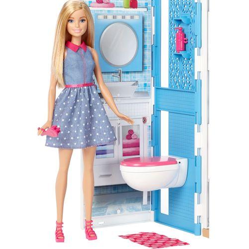 2 Etagen Ferienhaus | Barbie | Mattel DVV48 | Haus mit Puppe, Möbel & Zubehör – Bild 4