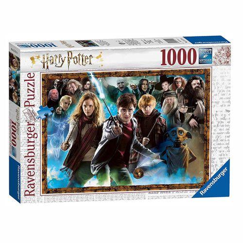 Der Zauberschüler Harry Potter | Puzzle | 1000 Teile | Ravensburger – Bild 1