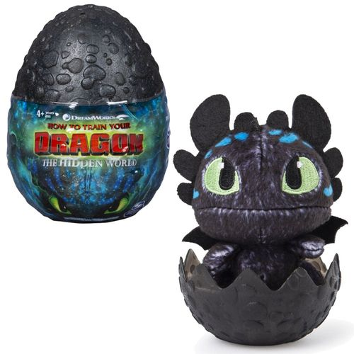 Auswahl Drachen-Ei | DreamWorks Dragons | Dragon-Egg Plüsch-Figur – Bild 4