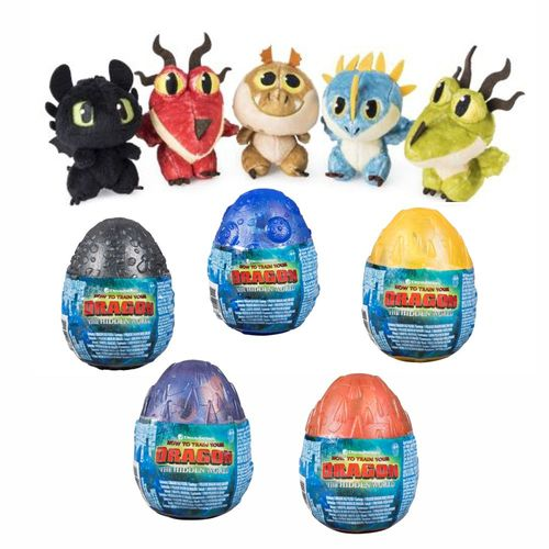 Auswahl Drachen-Ei | Dragon-Egg Plüsch-Figur | DreamWorks Dragons – Bild 1
