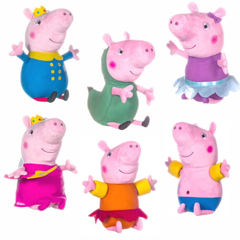 Auswahl Plüsch Figuren 30 Cm Peppa Wutz Peppa Pig Softwool