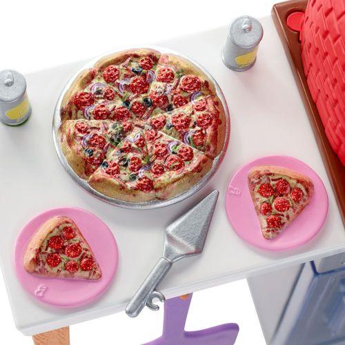 Pizza Backofen Spielset | Barbie | Mattel FXG39 | Möbel Einrichtung Küche – Bild 3