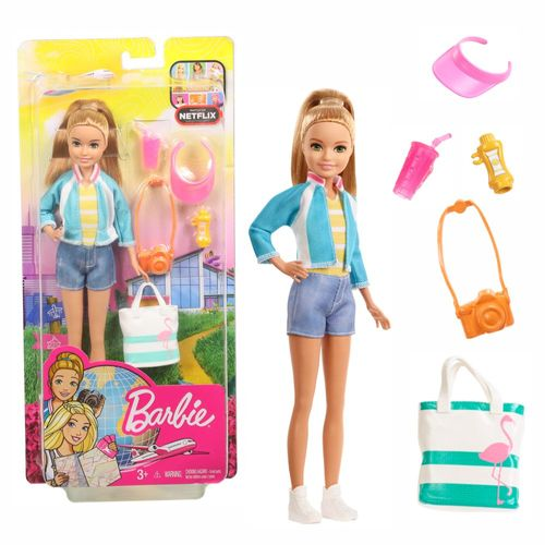 Stacie | Barbie | Mattel FWV16 | Dreamhouse Adventures | Schwester Puppe – Bild 1