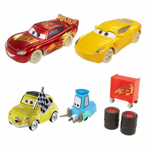 Fireball Beach Racer 4er Pack | Disney Cars | Set Die Cast 1:55 | Mattel FCL78 – Bild 2