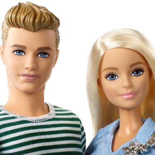 Hunde Spaziergang | Barbie & Ken mit Hündchen | Mattel FTB72 | Barbie Puppe – Bild 2