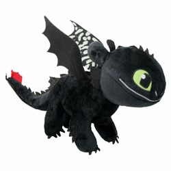 Ohnezahn Toothless | Glow in the Dark | Plüsch Figur 40 cm | DreamWorks Dragons