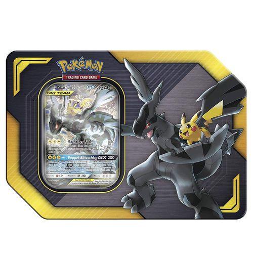 Pikachu & Zekrom TAG TEAM 45100 | Pokemon Tin-Box | Sammelkarten | Trading Cards
