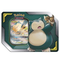 Evoli & Relaxo TAG TEAM 45101 | Pokemon Tin-Box | Sammelkarten | Trading Cards