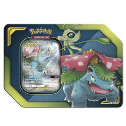 Celebi & Bisaflor TAG TEAM 45102 | Pokemon Tin-Box | Sammelkarten | Trading Cards