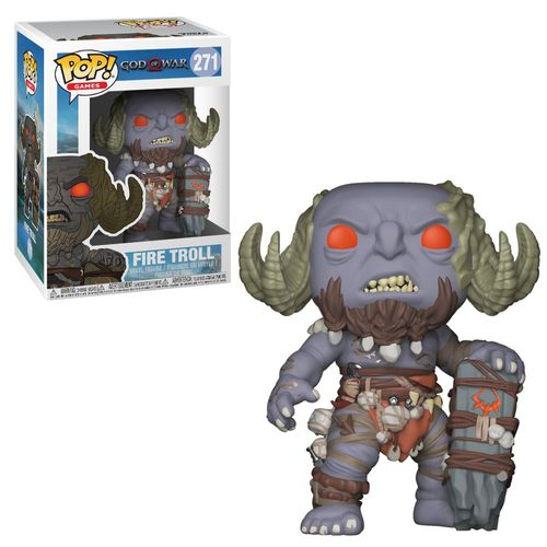 Feuertroll | God of War | POP! Games | Sammel-Figur | Funko No. 271