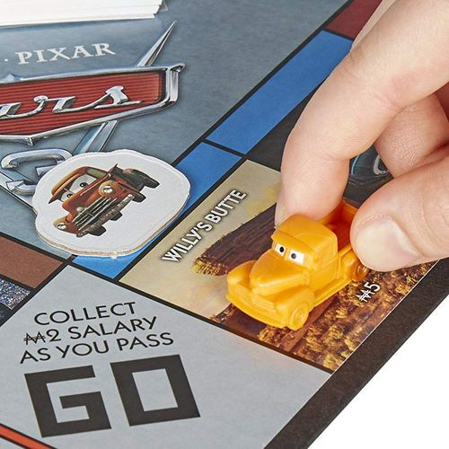 Monopoly Junior | Disney Cars | Hasbro C1343100 | Familien-Spiel – Bild 2
