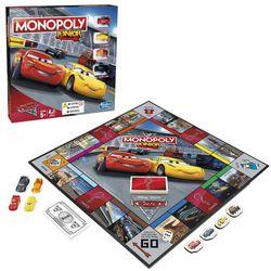 Monopoly Junior | Disney Cars | Hasbro C1343100 | Familien-Spiel