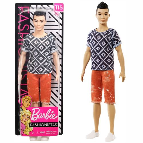 Boho Hip Ken | Barbie | Mattel FXL62 | Original Fashionistas 115 | Puppe – Bild 1