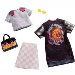 Rock Band | 2 Garderoben Set | Barbie | Mattel FXJ59 | Puppen-Kleidung