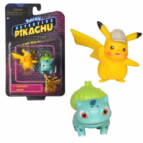 Auswahl Spiel-Figuren | Pokemon | Meisterdetektiv Pikachu | Mini Figuren – Bild 2