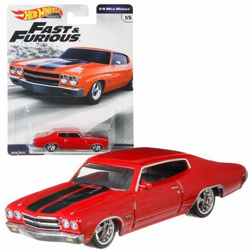 Fast & Furious 1/4 Mile Muscle | Hot Wheels Premium Auto Set | Cars Mattel GBW75 – Bild 7