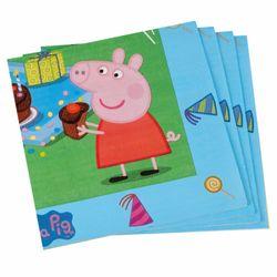 Servietten | 20 Stück | Peppa Wutz | Peppa Pig | Kinder Party Geburtstag