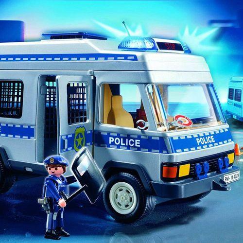 Polizei Bus | Einsatz-Wagen | Playmobil City Action | Spielset 4023 – Bild 3