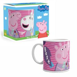 Tasse Best Friends | Peppa Wutz | Peppa Pig | 300 ml | Henkel-Becher 001