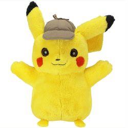 Meisterdetektiv Pikachu   Pokemon   Plüsch-Tier 40 cm   Kuscheltier   Stofftier 001