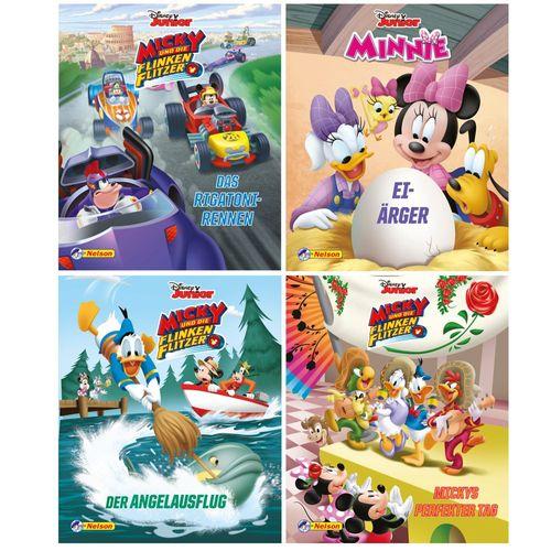 Mini Pixi Bücher | Minnie & Mickey Mouse | Geschichtenband | Buch | Teil 1-4