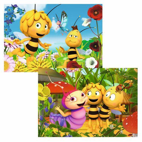 Puzzle Box | Biene Maja | Kinder Legespiel | 2 x 24 Teile | Ravensburger – Bild 2