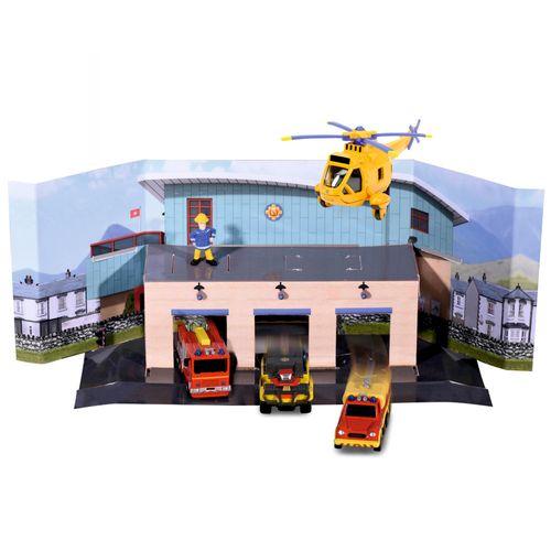 Rettungs Team Set | 5er Pack | Mini Die Cast Serie | Feuerwehrmann Sam – Bild 2